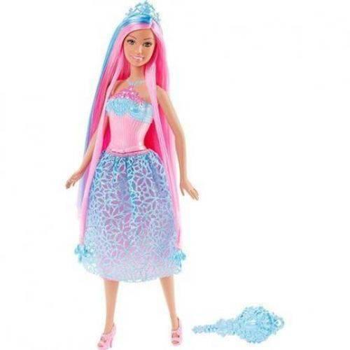 Barbie Princesa Cabelos Longos Azul Mattel Dkb56 (957298)