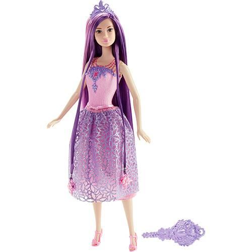 Barbie Princesa Cabelos Longos Roxo - Mattel