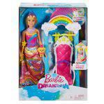 Barbie Princesa no Balanço Fjd06 - Mattel