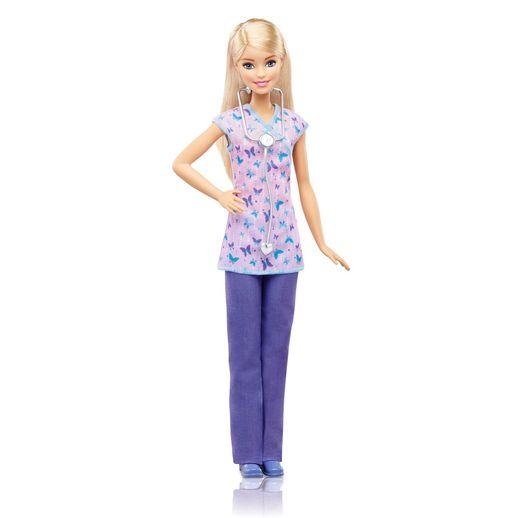 Barbie Profissões Boneca Médica - Mattel