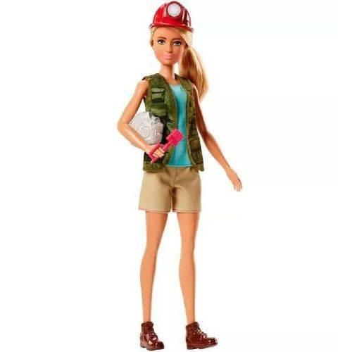 Barbie Profissoes Paleontologa Mattel DVF50