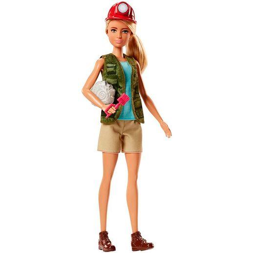 Barbie Profissões Paleontologista - Mattel