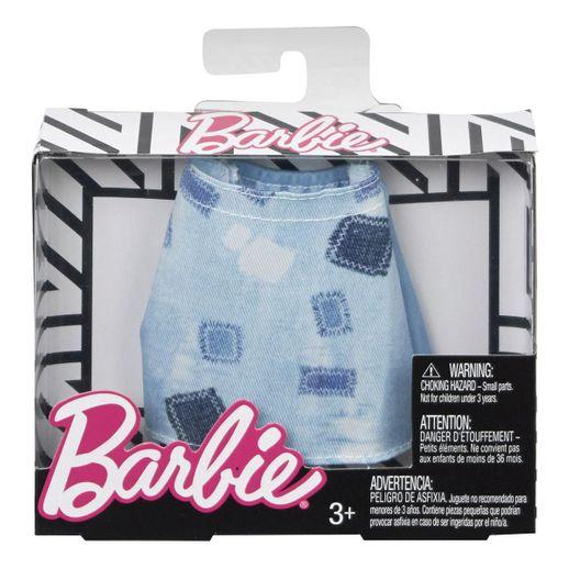 Barbie Roupinhas e Acessórios Saia Vase Quadriculada - Mattel