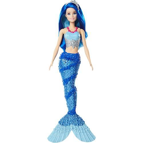 Barbie Sereia Azul - Mattel