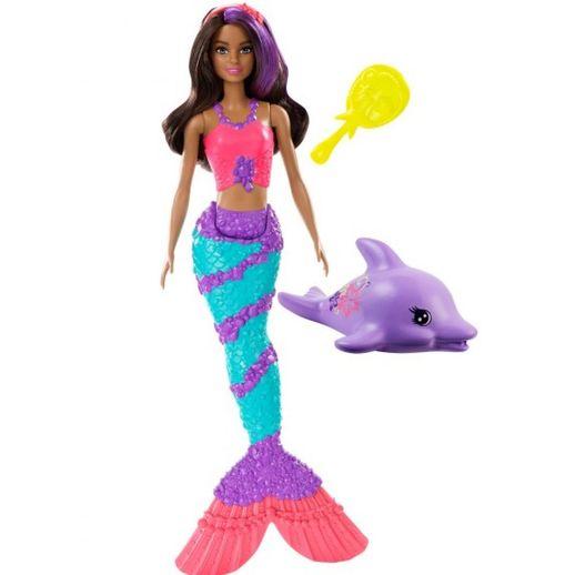Barbie Sereia Teresa Muda de Cor - Mattel