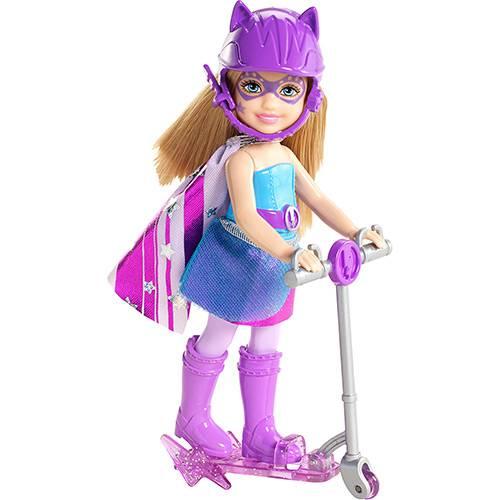 Barbie Super Princesa Super Chelsea Azul - Mattel