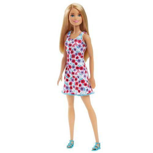Barbie Vestido Branco Fashion - Mattel Dvx86