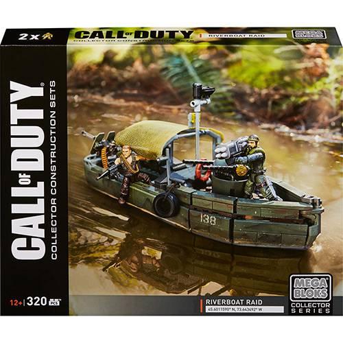 Barco Combate na Selva - Mega Bloks