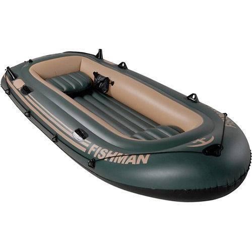 Barco Fishman 400 com Remos Mor
