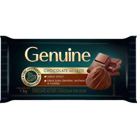 Barra de Chocolate Genuine ao Leite 1,05kg - Cargill