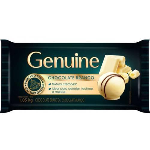 Barra de Chocolate Genuine Branco 1,05kg - Cargill