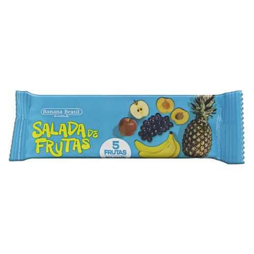 Barra de Frutas Banana Brasil Salada de Frutas com 20g