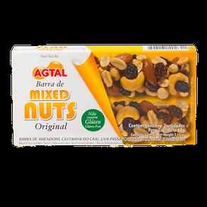 Barra de Mixed Nuts Agtal Original 60g (2x30g)