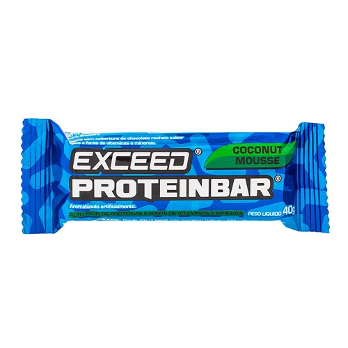 Barra de Proteína Exceed Proteinbar Advanced Nutrition Coconut Mousse com 40g