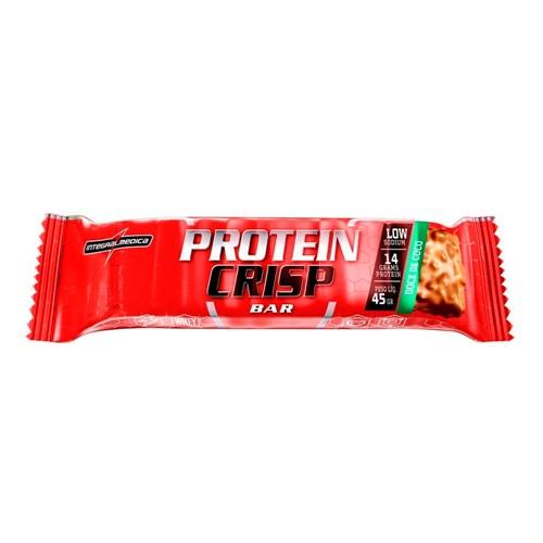 Barra de Proteína Protein Crisp Integralmédica Sabor Doce de Coco 45g
