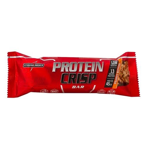 Barra de Proteína Protein Crisp Integralmédica Sabor Manteiga de Amendoim 45g