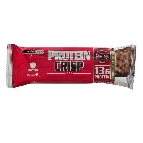 Barra de Proteína Protein Crisp Integralmédica Sabor Trufa de Avelã com 45g