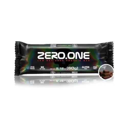 Barra de Proteina Zero One 60g - Black Skull
