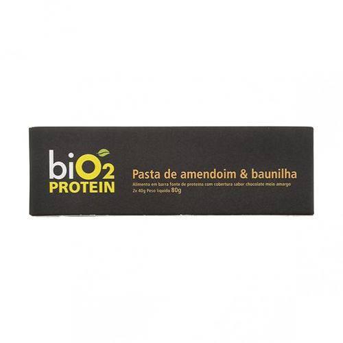 Barra Fonte de Proteína BiO2 Baunilha + Amendoim 40g X 2 - BiO2