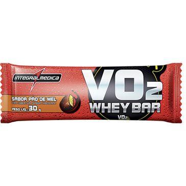 Barra Integralmédica Vo2 Whey Bar Pão de Mel 30g