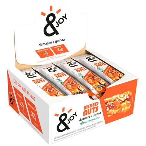 Barra Mixed Nuts Damasco e Quinoa 30g C/12 - Agtal &Joy