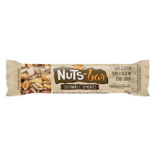 Barra Nuts Bar Castanhas e Sementes 25g