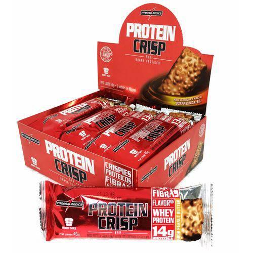 Barra Proteina Crisp Caixa C/ 12 Sabor Torta de Limão - Integralmedica