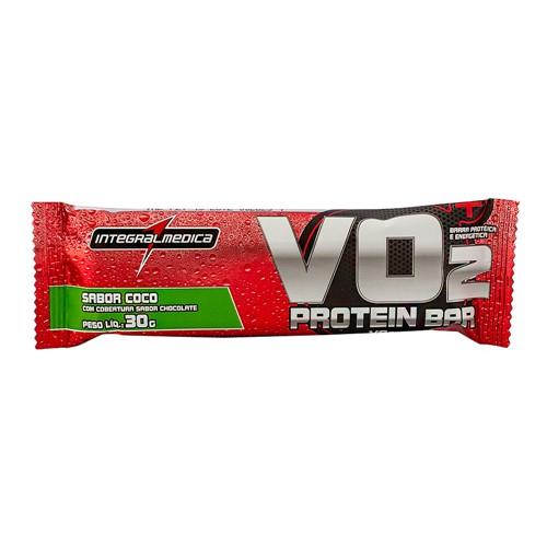 Barra Proteina VO2 Protein Bar Integralmédica Sabor Coco com 30g