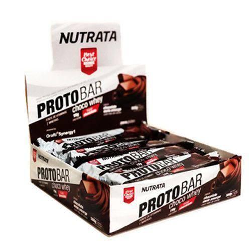 Barra Proto Bar - 8 Unidades de 70g Chocolate Meio Amargo com Nibs de Cacau - Nutrata