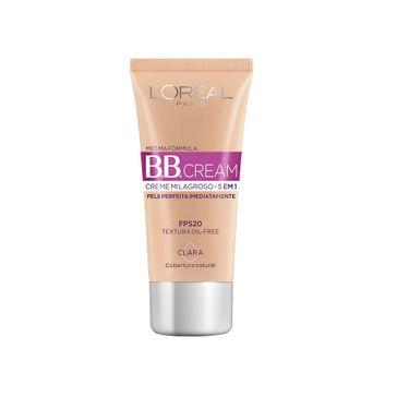Base BB Cream 5 em 1 Clara 30ml