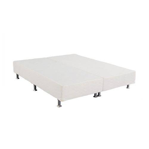 Base Bipartido Light Branco Super King 193x203x24 Ortobom
