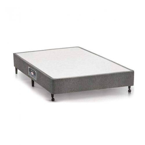 Base Box Casal 27cmx138cmx188cm SI Lux Castor Cinza
