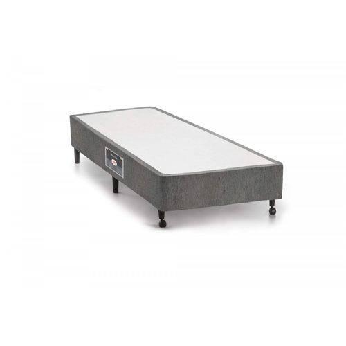 Base Box Solteiro 36cmx69cmx188cm SI Lux Castor Cinza