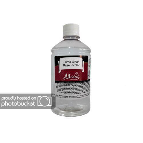Base Cola Transparente para Slime Clear 500g Altezza