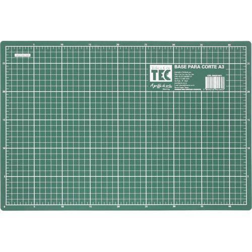 Base de Corte A3 Verde 45x30cm Dupla Face Toke e Crie