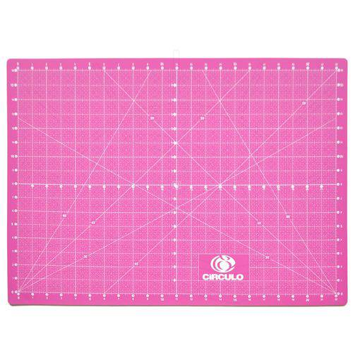 Base de Corte Dupla Face Círculo Rosa - 45x60cm