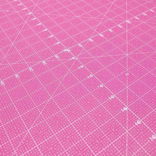 Base de Corte Dupla Face Círculo Rosa - 60x90cm