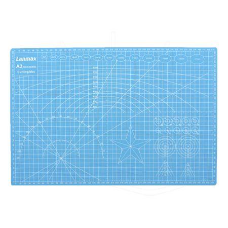 Base de Corte Dupla Face Lanmax Azul - 30x45cm