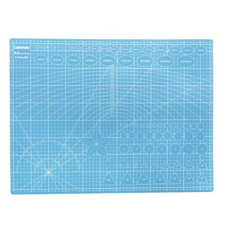 Base de Corte Dupla Face Lanmax Azul - 45x60cm