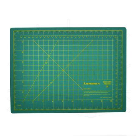 Base de Corte Dupla Face Lanmax Verde - 22x30cm