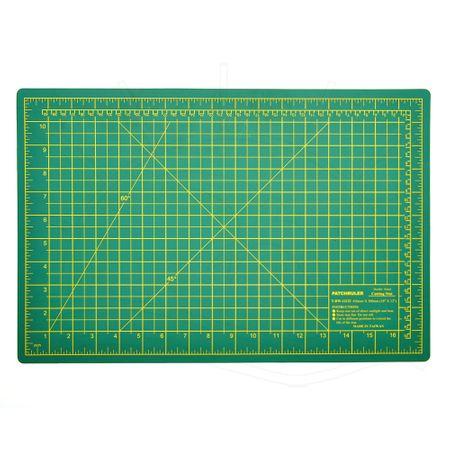 Base de Corte Dupla Face Patchruler Verde - 30x45cm