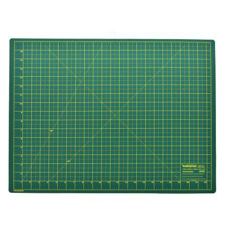 Base de Corte Dupla Face Westpress Verde/Amarelo - 45x60cm