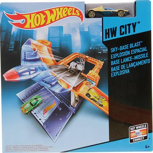 Base de Lançamento Explosiva Hot Wheels - Mattel