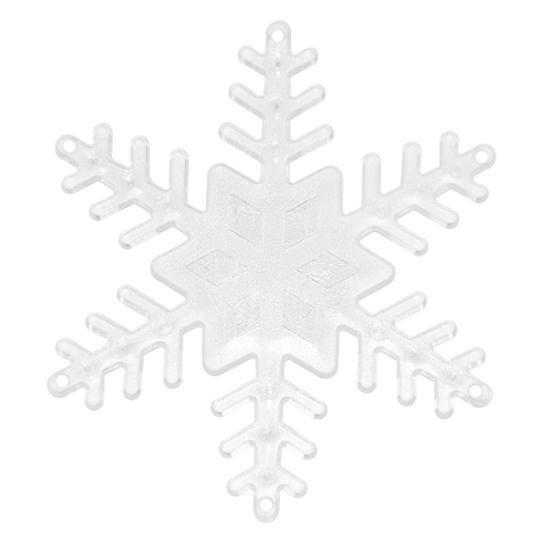 Base Floco de Neve Branca Pequena com 4 Peças - Blue Star