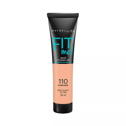 Base Líquida Maybelline Fit me Cor 110 Claro Real 35ml