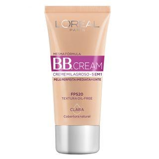 Base L'Oréal Paris - Dermo Expertise BB Cream 30ml Claro