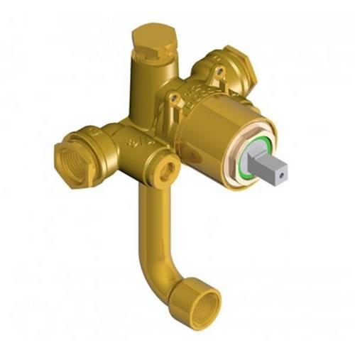 Base Misturador Monocomando para Ducha Higiênica Alta Pressão/ Baixa Pressão 1/2 e 3/4 - Docol