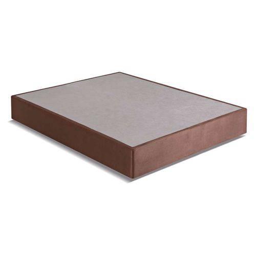 Base para Cama Box Casal Turmalina Marrom - 138x188x25 Casal
