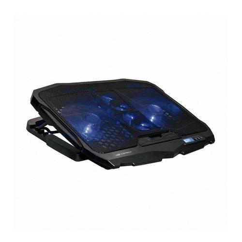 "Base para Notebook 17,3"" Gamer Nbc-100bk C3 Tech Fan Led Azul"
