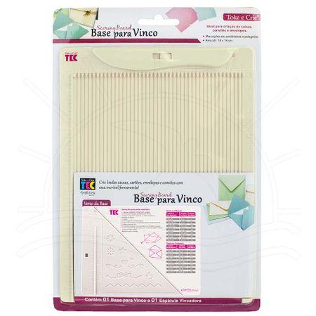 Base para Vinco (Scoring Board) 18 X 14 Cm - Toke e Crie